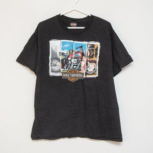 Harley Davidson - Retro Double-sided Tee